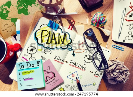 Office Designer Creativity Idea Project Strategy Concept - stock photo