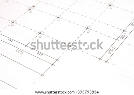 Office desk background construction project ideas concept and drawing equipment