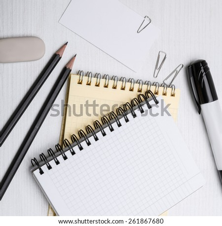 office equipment - stock photo