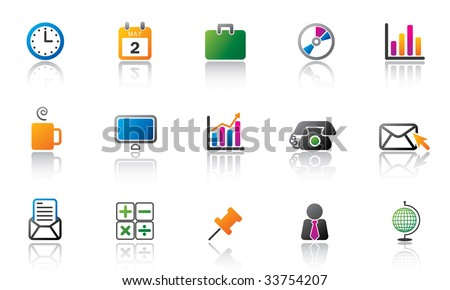 office icon set - high res JPG