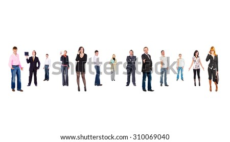 Office Idea Business Compilation  - stock photo