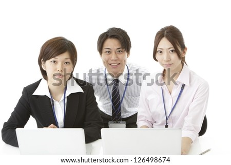 Office image - stock photo