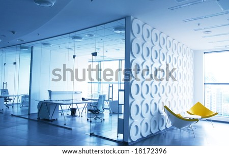Office interior stock photo 14402029 shutterstock for Diseno de interiores de oficinas ejecutivas