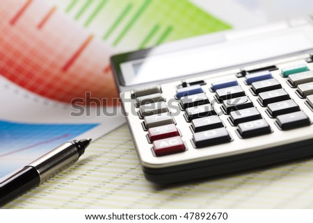 Office Job - stock photo