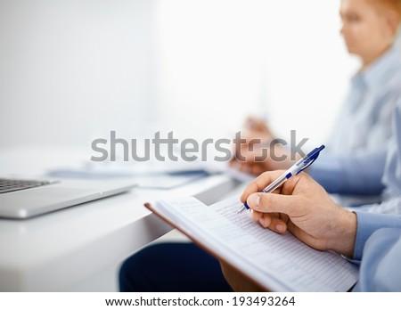 Office meeting - stock photo