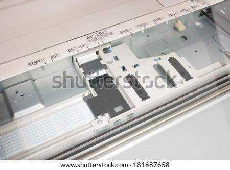 Office Multifunction Printer - stock photo