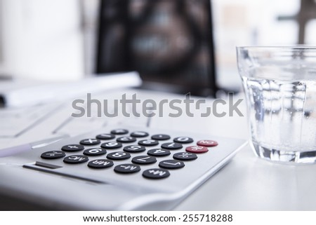 Office supplies - stock photo