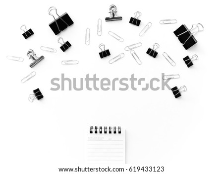 idea office supplies. Office Supplies , Copy Space For Idea Concept U