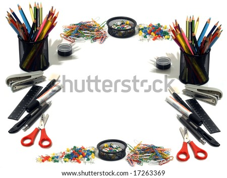 Office tools - stock photo