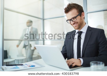 Office work - stock photo