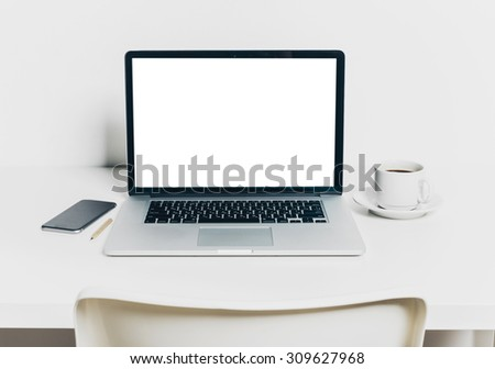 Office, working place - stock photo