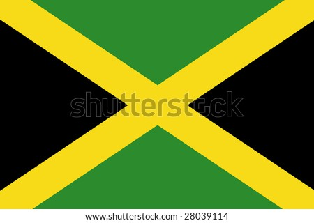 official flag of jamaica