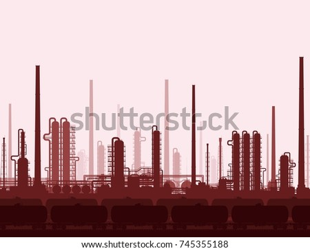 stock-photo-oil-and-gas-refinery-or-chem