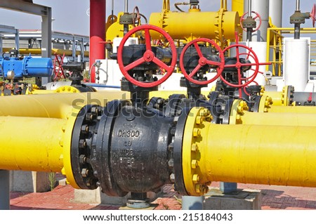 Oil field pipelines and valves
