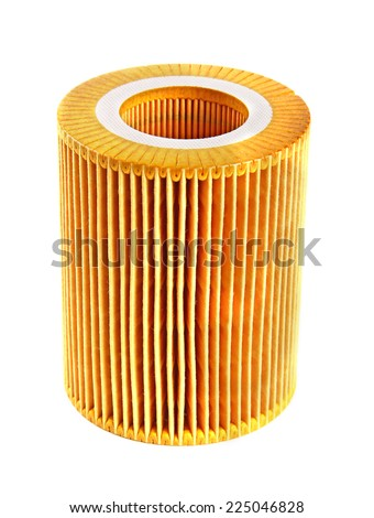 Oil filter - stock photo