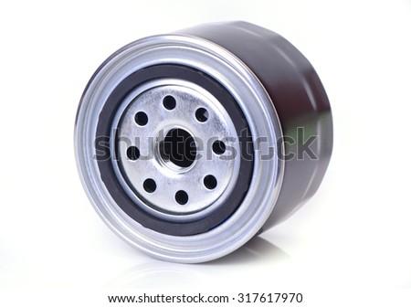 Oil filter  - stock photo