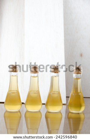 Oil for skin and beauty - stock photo