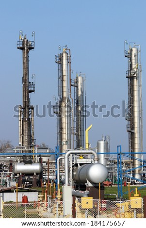 oil industry petrochemical plant
