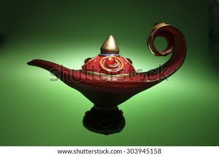 Oil Lamp - stock photo