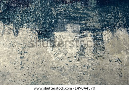 Oil painting abstract - stock photo