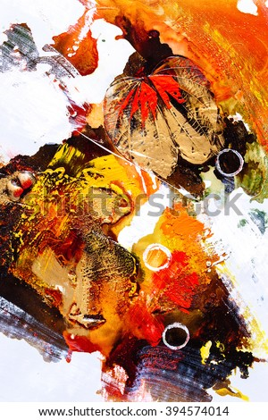 Oil Painting - Abstraction