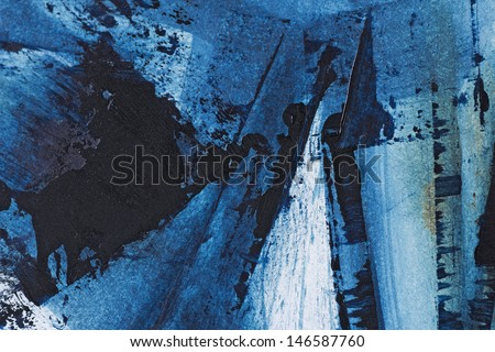 oil painting brush strokes, detail, universal organic structure  - stock photo