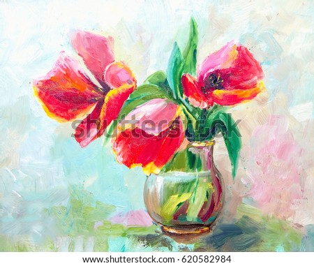 Impressionism stock images royalty free images vectors for Oil painting patterns