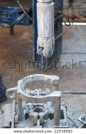 oil recovery - stock photo