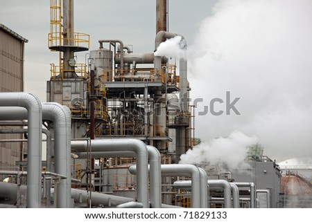 Oil refinery in JAPAN
