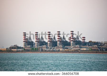 oil-refinery petrochemical chemical industry fuel distillation of petrol industrial