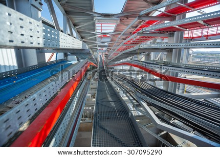 Cable Tray Stock Images Royalty Free Images Amp Vectors