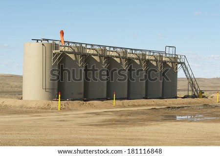 Oil Storage Tanks in North Dakota