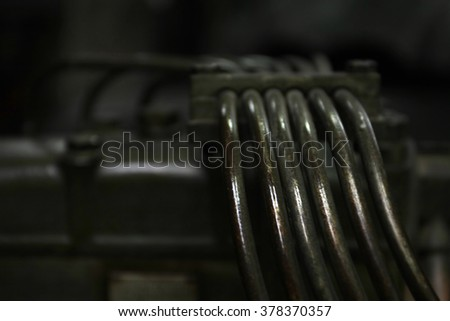 oily steel pipes