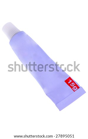 ointment tube - stock photo