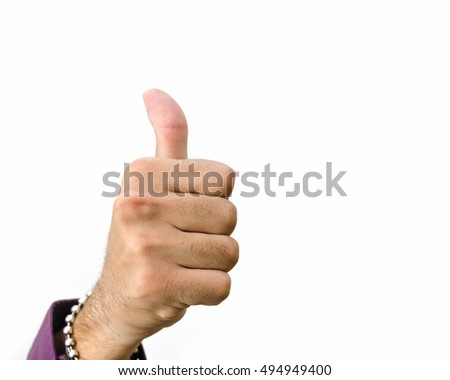 ok sign with thumb