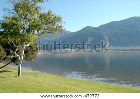 Okanagan Valley - stock photo