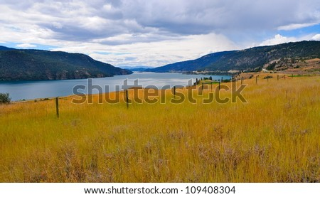 Okanagan Valley, BC - stock photo