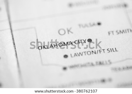 Oklahoma City. Oklahoma. USA