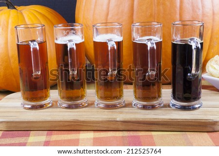 Oktoberfest Beer Flight