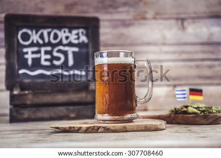 Oktoberfest (Craft Beer) - stock photo