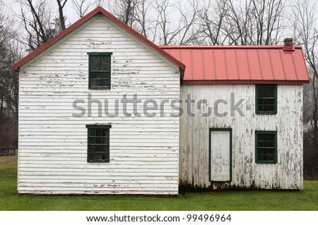 Old Abandoned House - stock photo