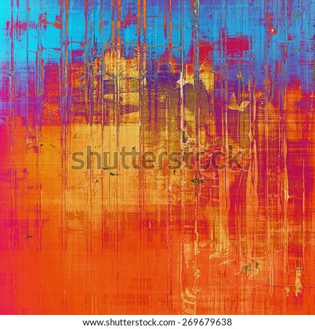 Old abstract grunge background for creative designed textures. With different color patterns: purple (violet); blue; red (orange); pink - stock photo