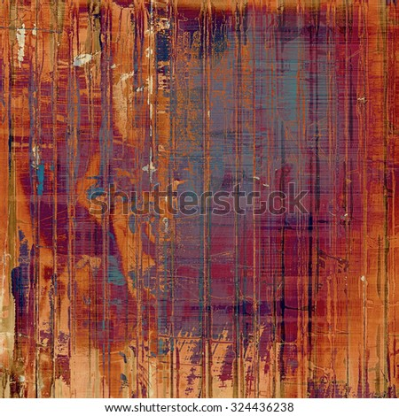 Old abstract grunge background for creative designed textures. With different color patterns: yellow (beige); brown; red (orange); purple (violet) - stock photo