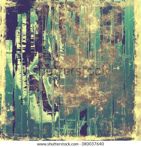 Old abstract grunge background for creative designed textures. With different color patterns: yellow (beige); brown; gray; blue; purple (violet) - stock photo