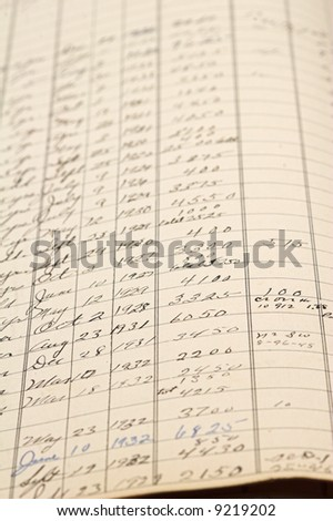 Ledger Paper Stock Images, Royalty-Free Images & Vectors ...