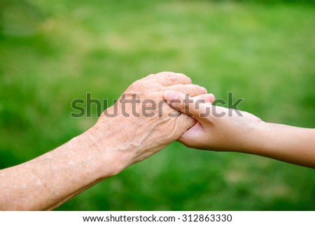 old age - stock photo