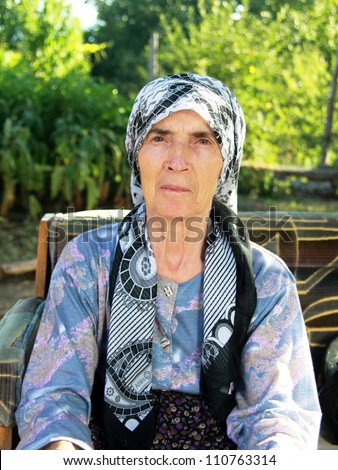 Old Anatolian-Turkish Women - stock photo