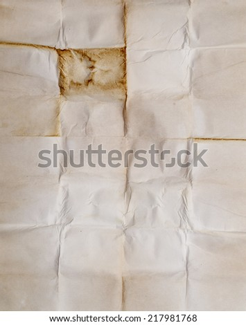 old ancient manuscript for background - stock photo