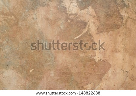 Old  ancient worn wall background - stock photo