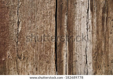 old and aged wood texture close up